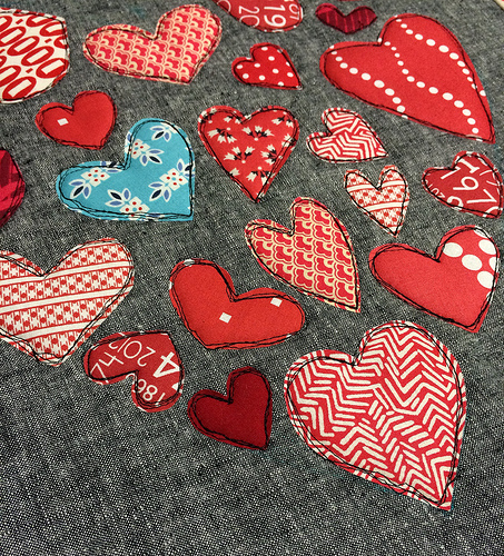 Heart of Hearts stitching trimmed - 9