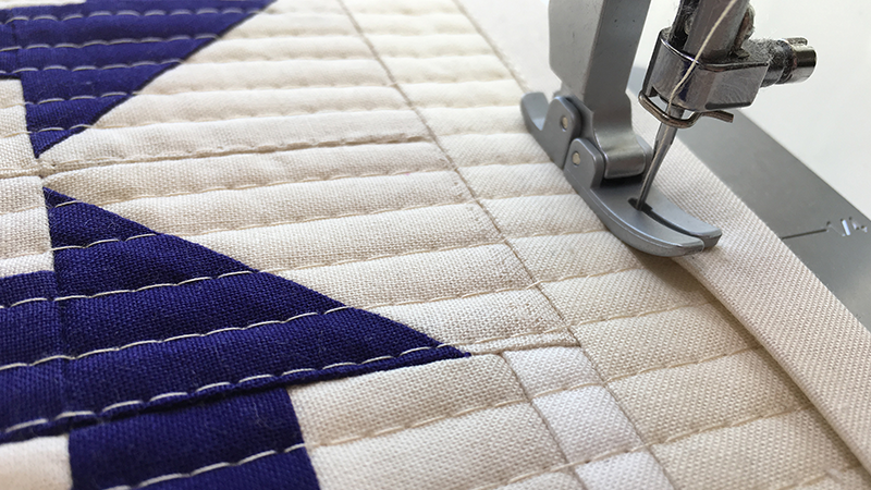 Machine Binding a Quilt, a Tutorial