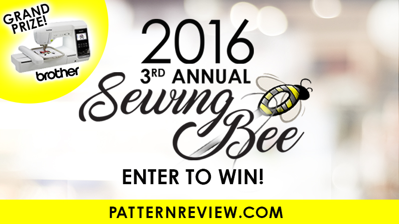 Enter PatternReview.com's 3rd Annual Sewing Bee