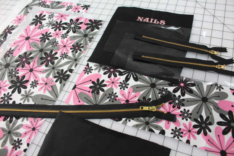 Nail Bag Sew-A-Long Materials