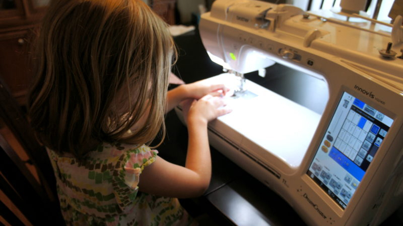 Sewing with Small Children