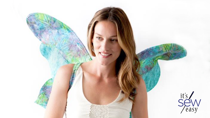 DIY Fairy Wings for All Sizes on It's Sew Easy TV
