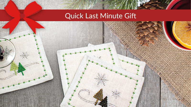 Winter Wonderland Coasters Gift Set