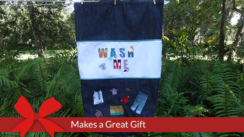 Wash Me – Personalized Laundry Bag