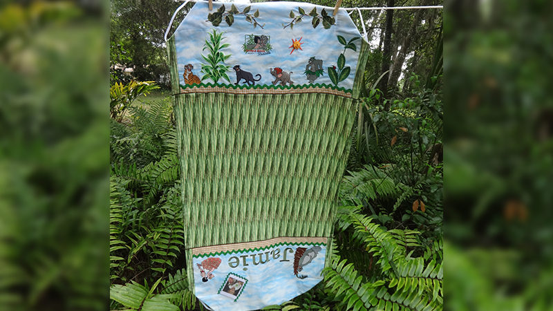 The Jungle Book Nap-time Fun Cot Sheet