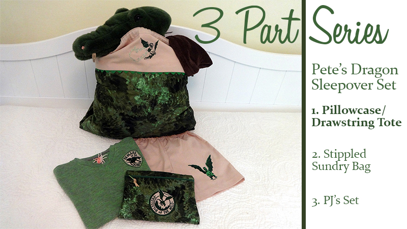 Pete's Dragon Sleepover Set – Part 1