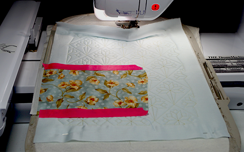 Quilted and Applique Placemat 690