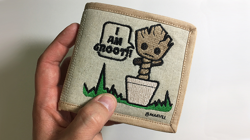 Tutorial: Dancing Baby Groot Billfold Wallet