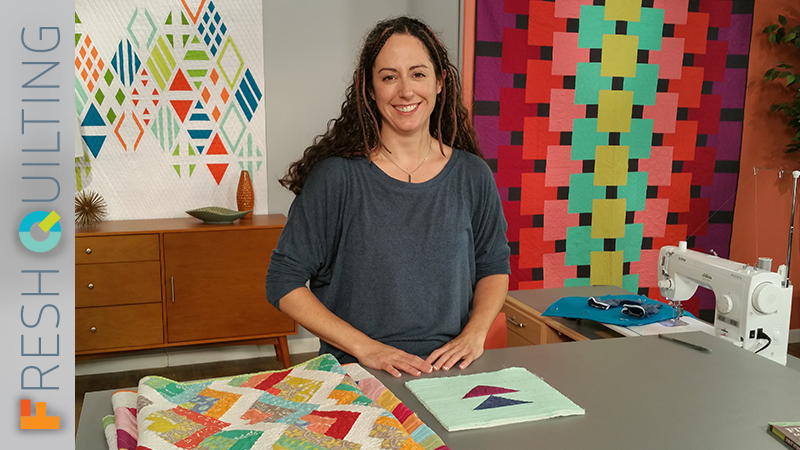 VIDEO: Fresh Quilting TV: Choosing Quilting Designs