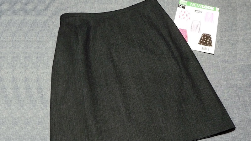 Foot of the Month: Lapped Zipper for a Stylish Skirt