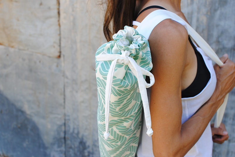 DIY Yoga Mat Carrier