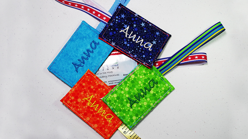 Fun and Easy DIY Luggage Tag