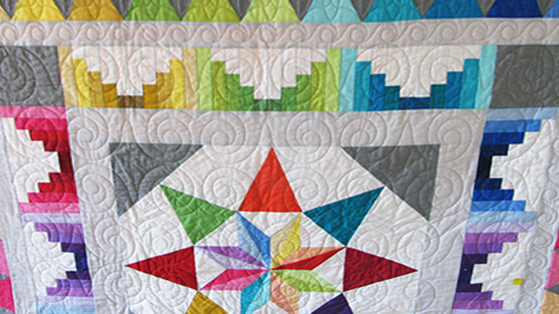 Using a Single Quilting Pattern Four Different Ways