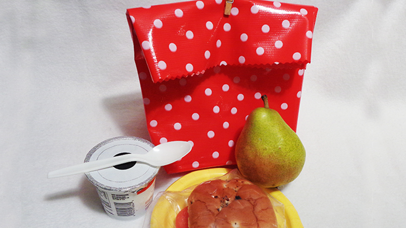 Fun to Make Oilcloth Lunch Bag