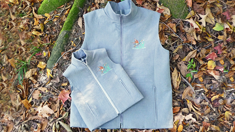 November Free Design: Embroidered Outdoor Vest