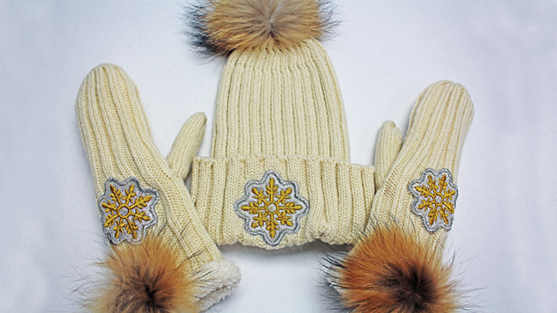 Holiday Gift Guide Project: Embroider Hats and Mittens