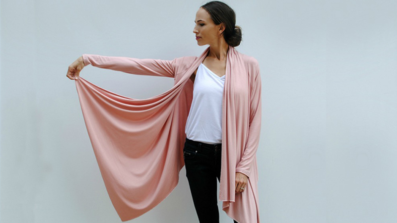 DIY Cardigan Wrap