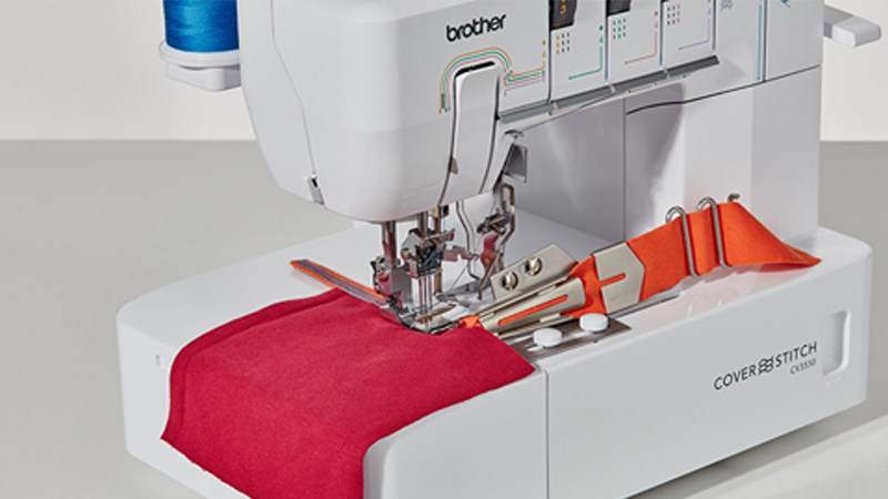 CV3440 and CV3550 Cover Stitch Machines