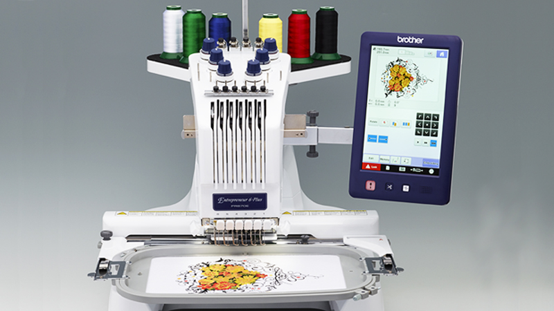 Entrepreneur 6-Plus PR670E Embroidery Machine