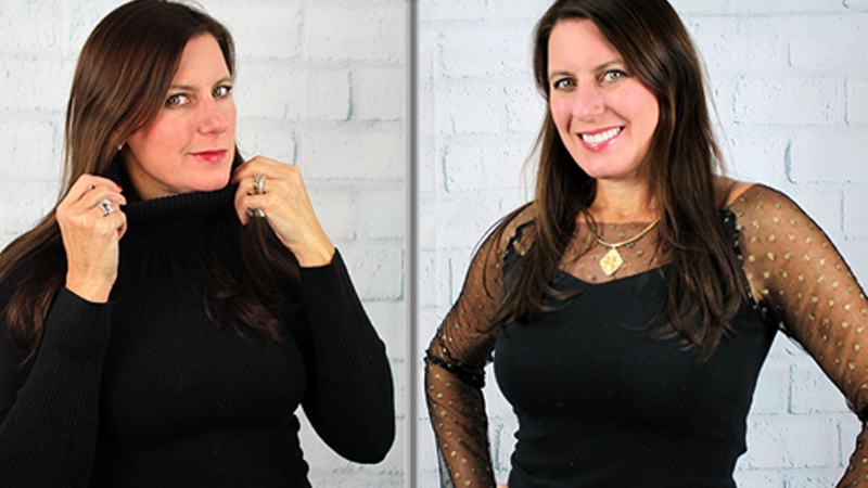Video: Upcycle a Turtleneck into a Stylish Top
