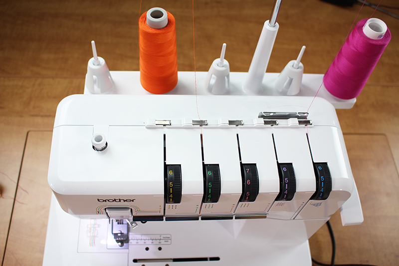 Chainstitch with a Coverstitch