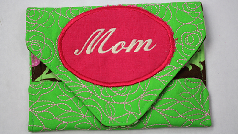 Monogrammed Envelope for Mother's Day