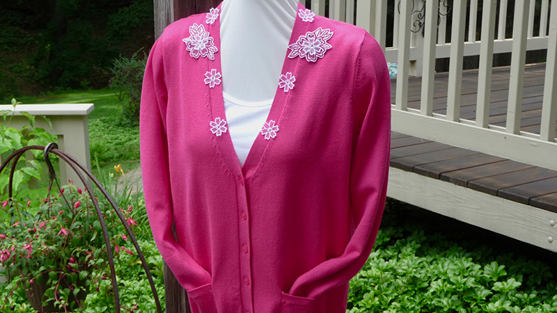 Embroidered Summer Sweater
