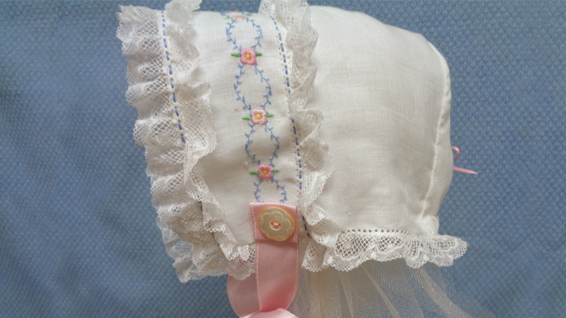 Lacey Heirloom Bonnet Tutorial