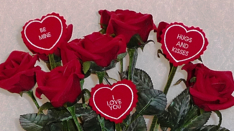 Say I Love You with Hearts & Flowers