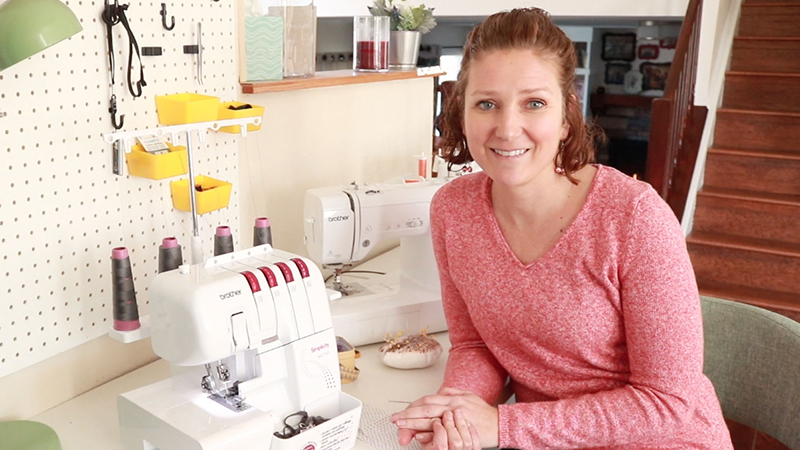 Video: How to Finish Serger Threads
