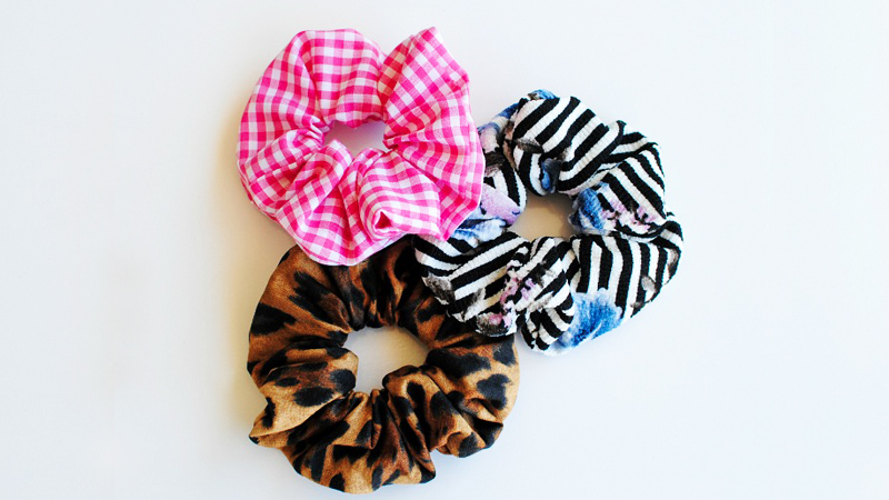 DIY Fun Scrunchie Project