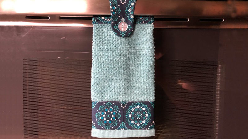 Handy-Dandy Hanging Hand Towel