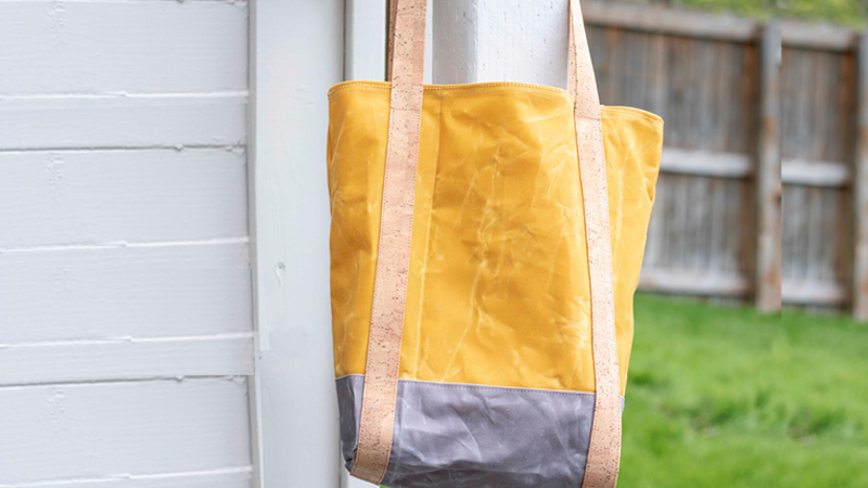 Handy Summertime Tote Bag