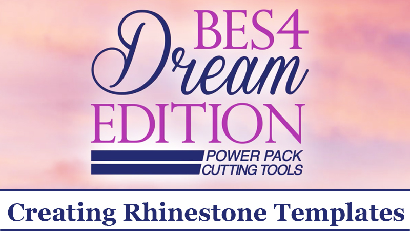 BES 4 Video Tutorial: Bring on the Bling! Creating Rhinestone Templates