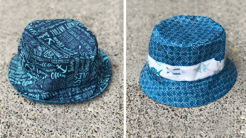 DIY Funky and Fantabulous Reversible Bucket Hat