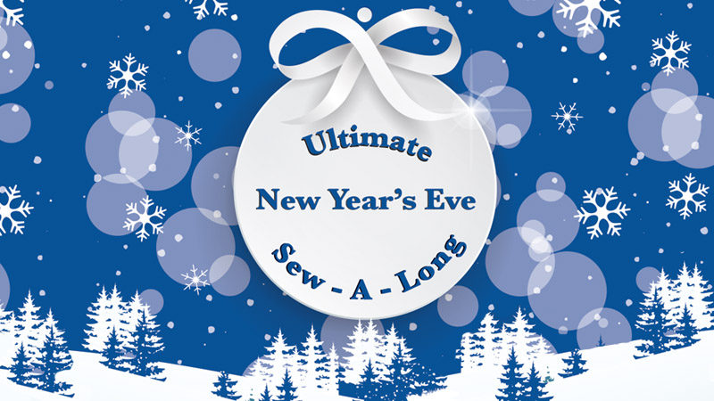 Ultimate New Year's Eve Sew-A-Long: Charming Wine Charms