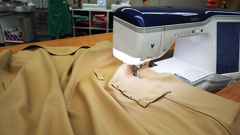 Angela Wolf Sew-A-Long: Chic Cashmere Trench Coat Part 2