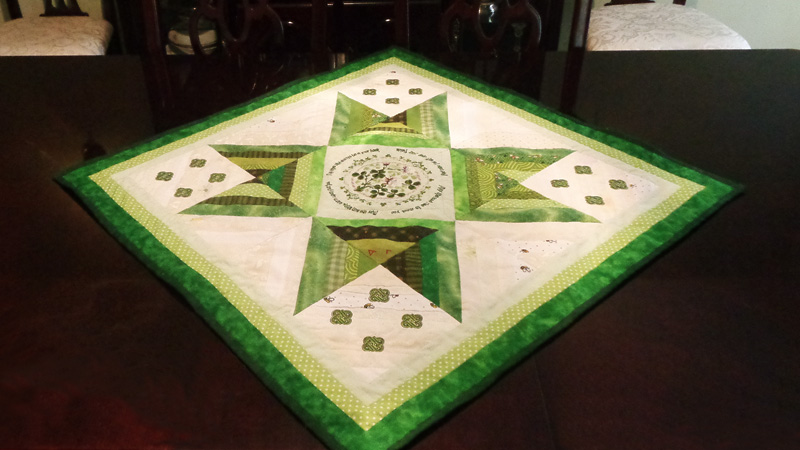 An Irish Blessing Quilt