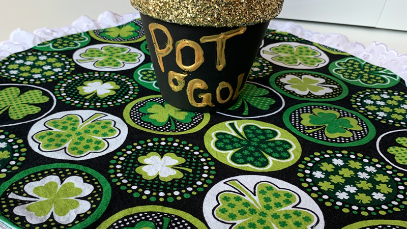 St. Patrick's Day Irish Table Topper