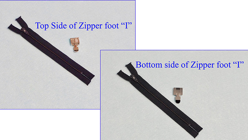 "Accessory Spotlight: Sewing a Lapped Zipper using Zipper Foot ""I"""