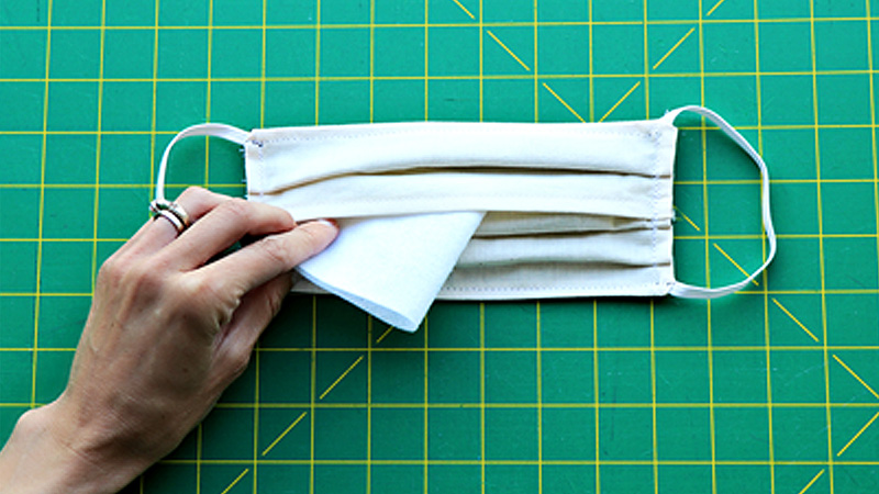 At Your Side: How to Add a Cloth Mask Pocket Insert for Filters
