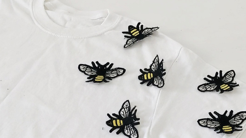 A Buzzzy Bee T-Shirt Tutorial