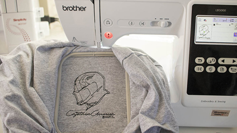 Exploring the Marvel Embroidery Designs in the LB5000M