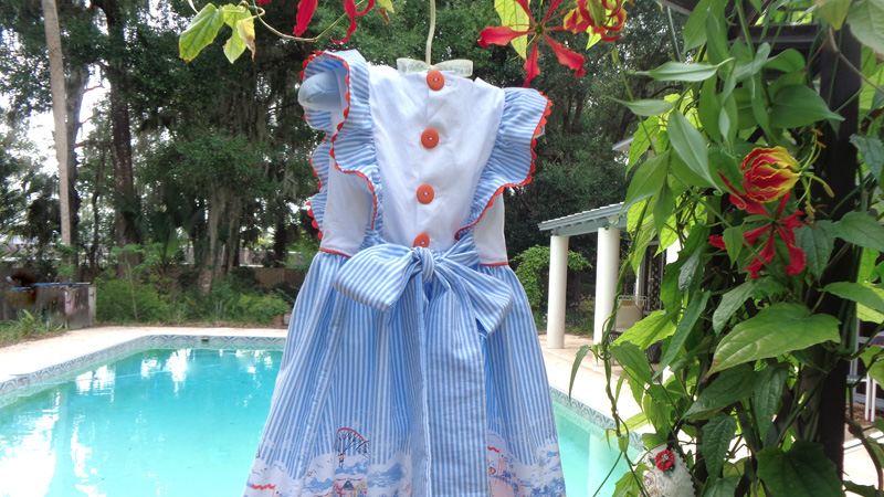 Seaside Summer Solstice Sundress
