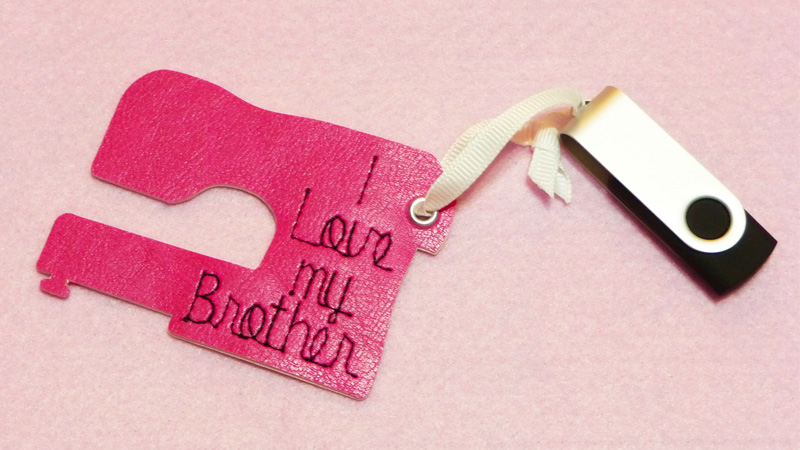 Stitch a Sewing Machine Shape for a Fun Tag or Appliqué