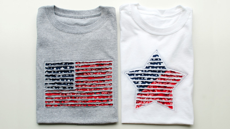 Festive July 4th T-Shirts