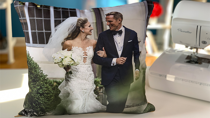Mr. & Mrs. Wedding Pillows
