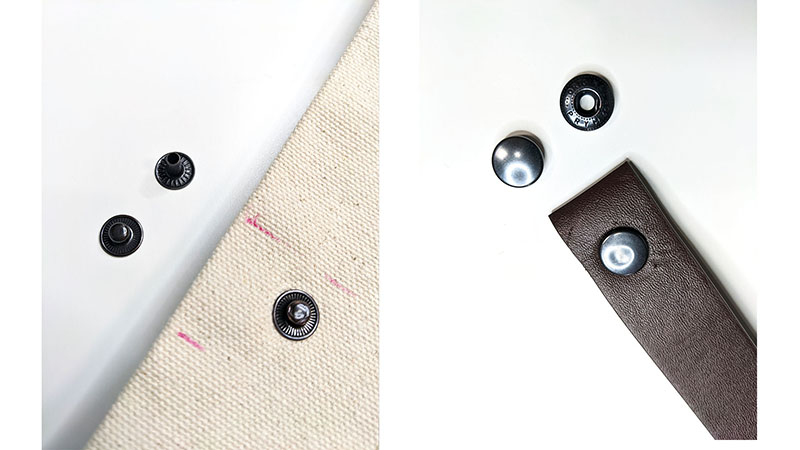 Attach Rivets