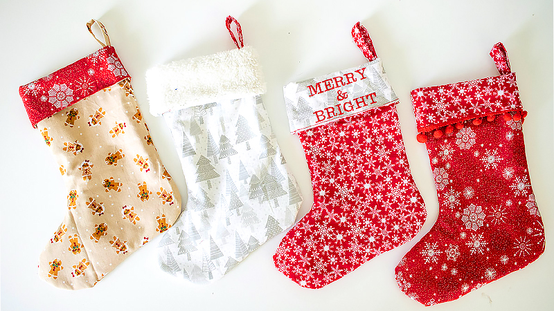 Create Your Own Christmas Stockings