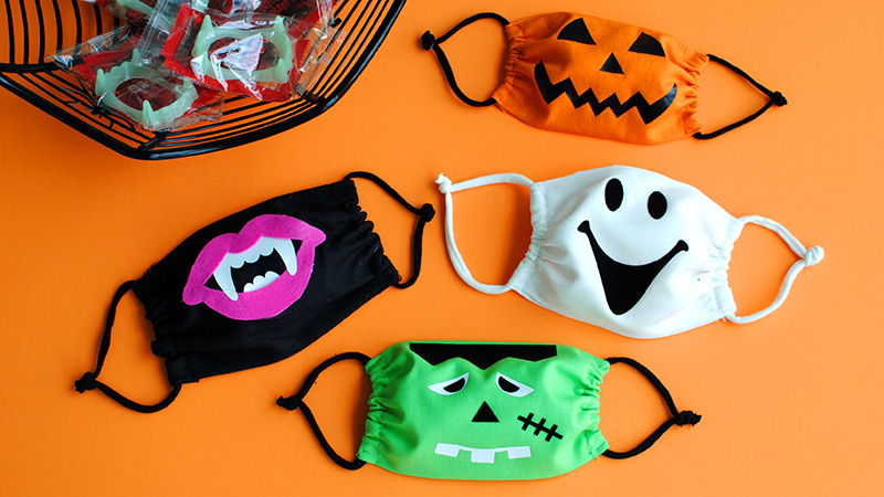 DIY Halloween Face Masks